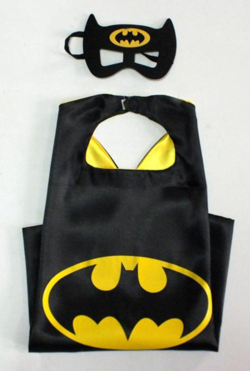 Batman Superhero Cape & Mask