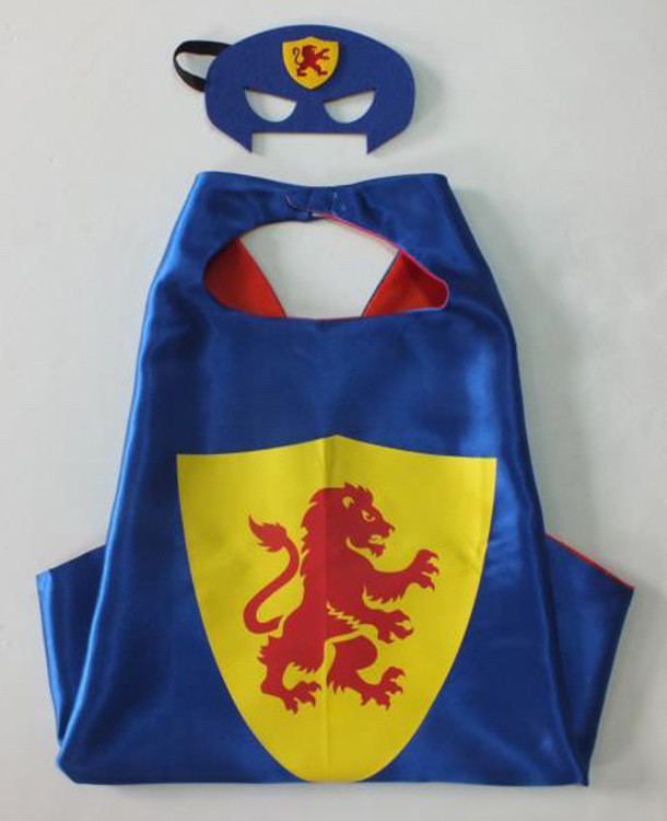 King Superhero Cape & Mask
