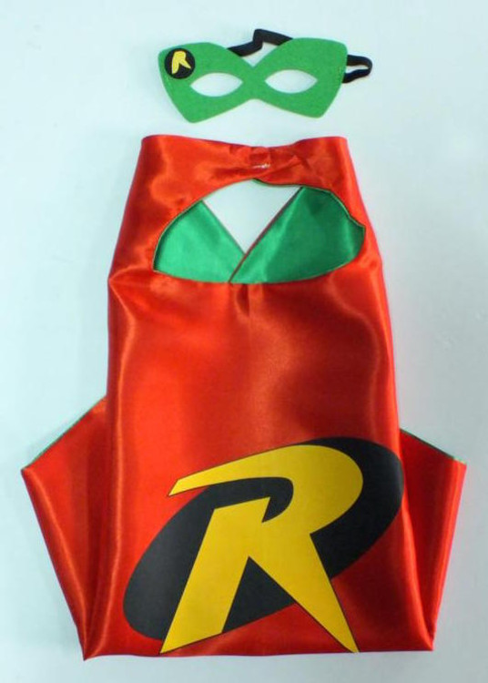 Robin Superhero Cape & Mask