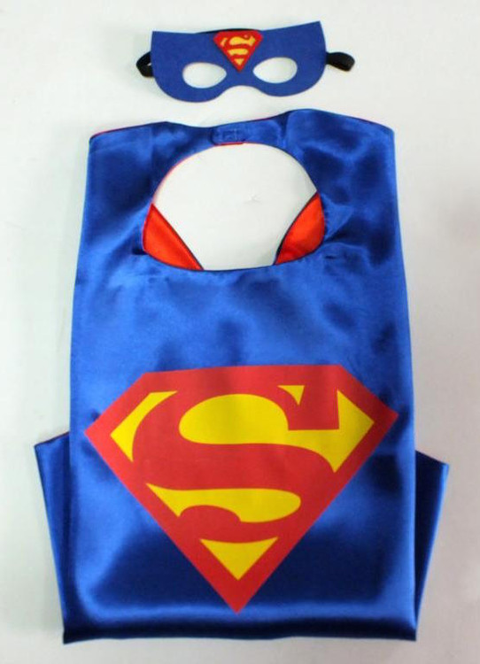 Superman Superhero Cape & Mask