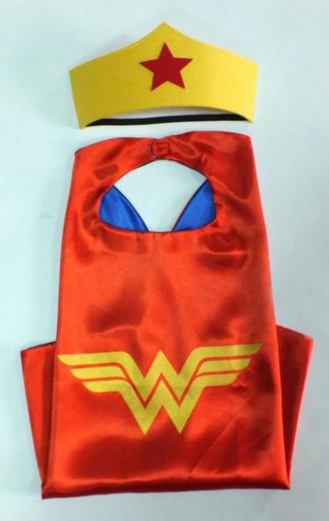 Wonder Woman Superhero Cape & Mask