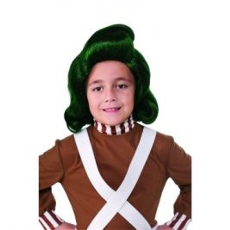 Willy Wonka Oompa Loompa Childs Wig