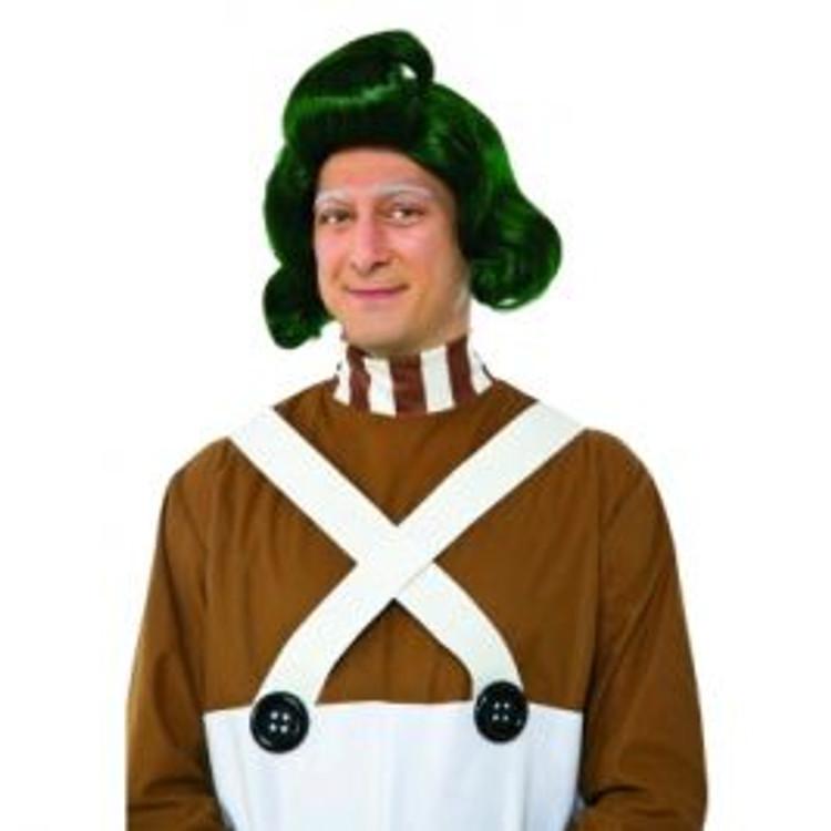 Willy Wonka Oompa Loompa Adult Wig