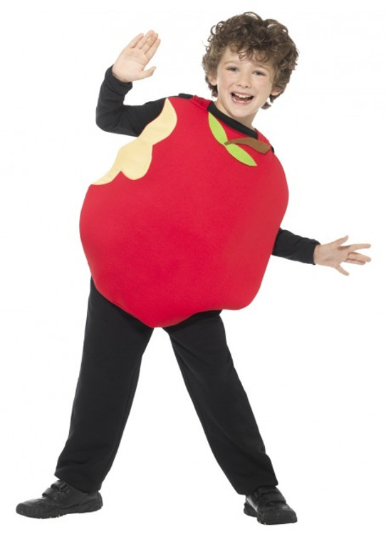 Apple Kids Costume