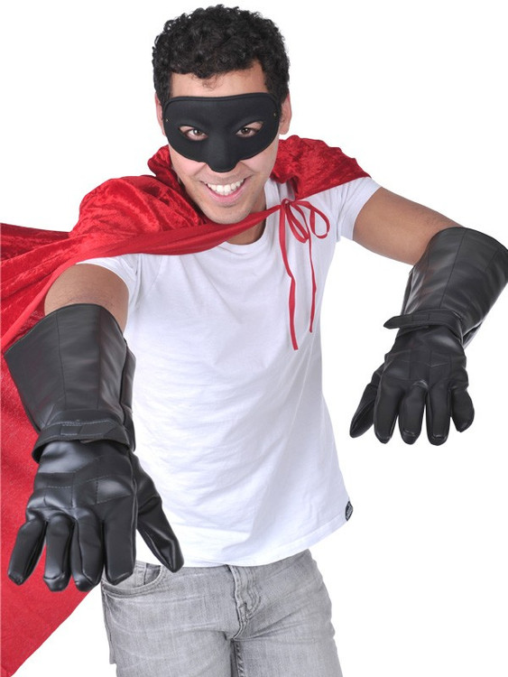 Superhero Mens Gloves