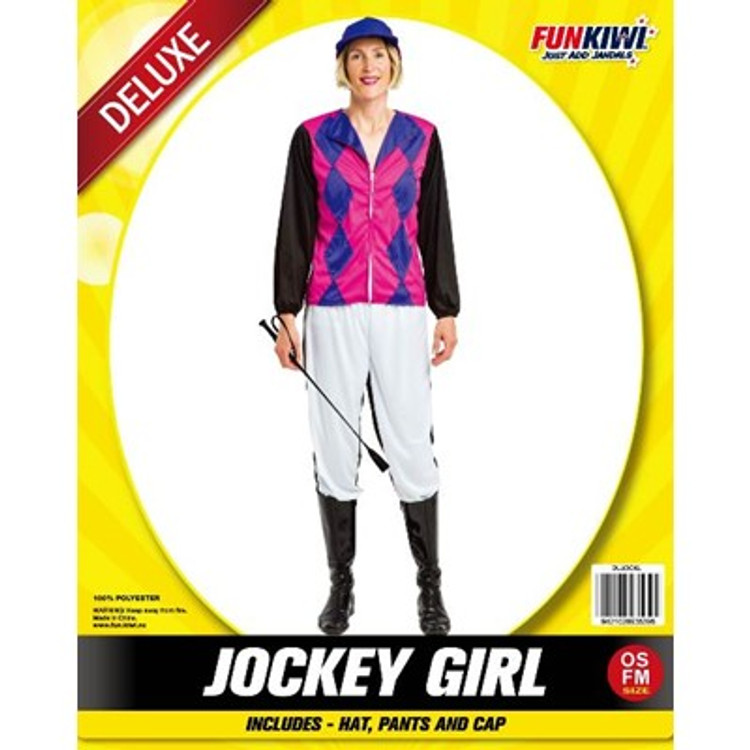 Jockey Horse Riding Womens Costume