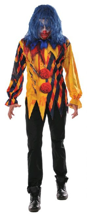 Killer Clown Mens Costume
