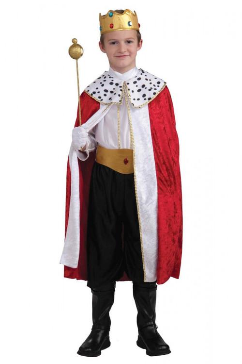 Regal King Costume Child