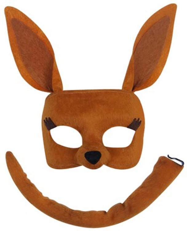 Kangaroo Animal Mask Set
