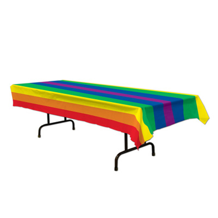 Tablecover - Rectangle Rainbow