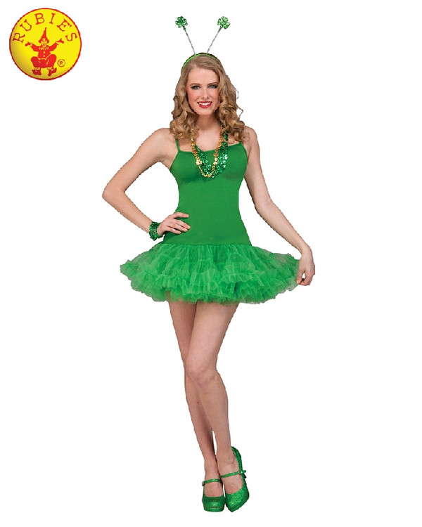 St Patricks Petticoat Dress Green