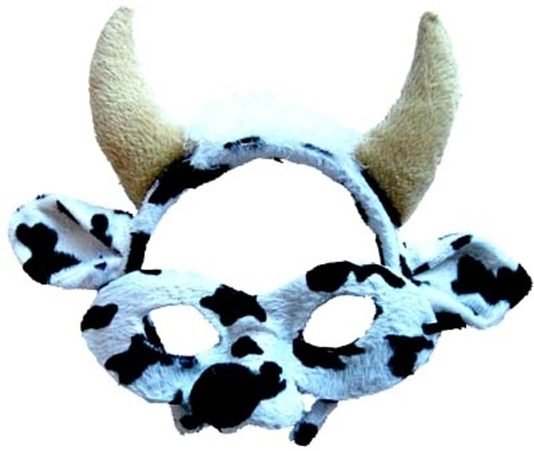 Cow Headband & Mask