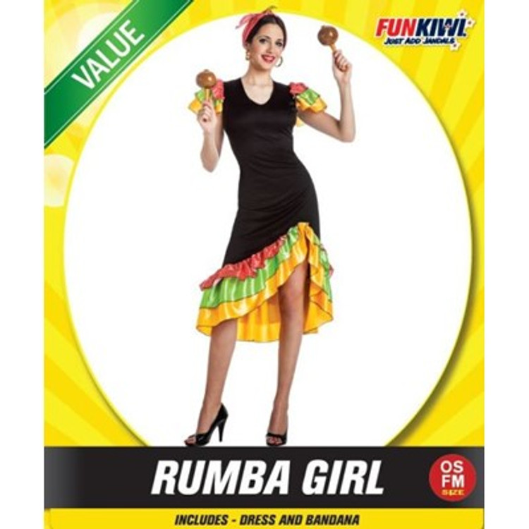 Rumba Womens Costume