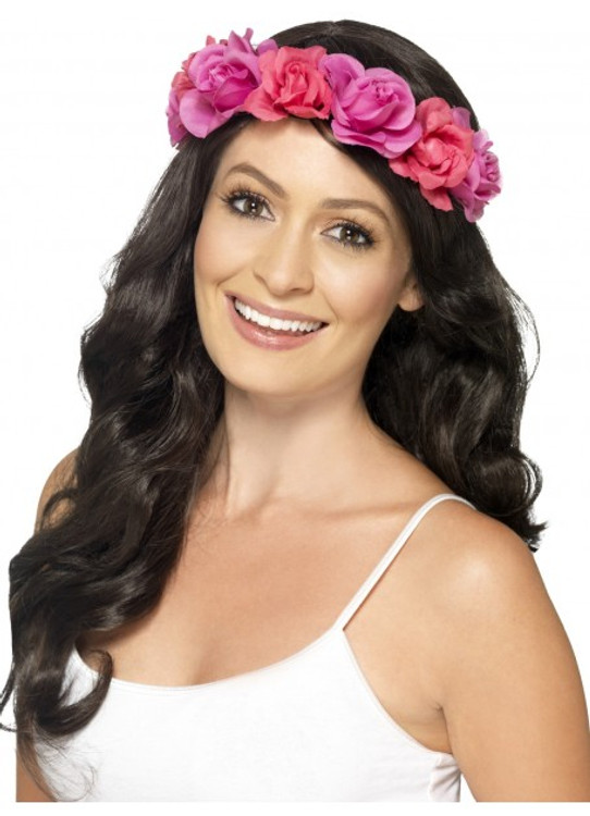 Floral Headband, Pink