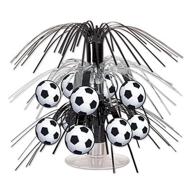 Soccer Ball Cascade Centrepiece