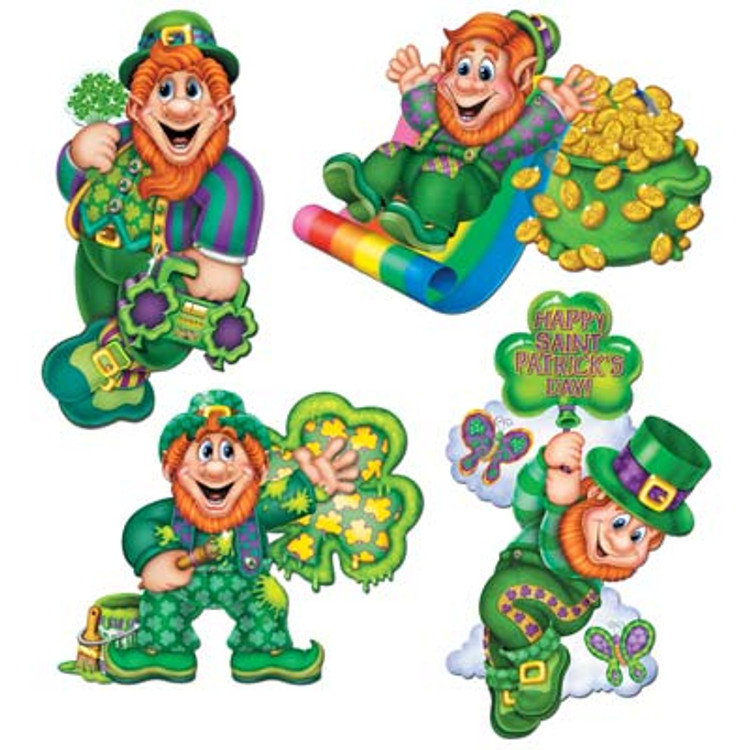 Leprechaun Cut Outs