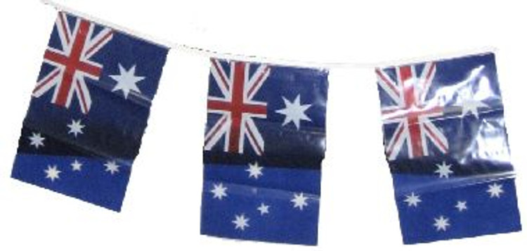 Party Australian Flag Bunting