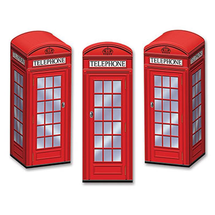 British Phone Box Favour Boxes