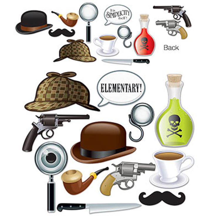 British Sherlock Holmes Photo Fun Signs