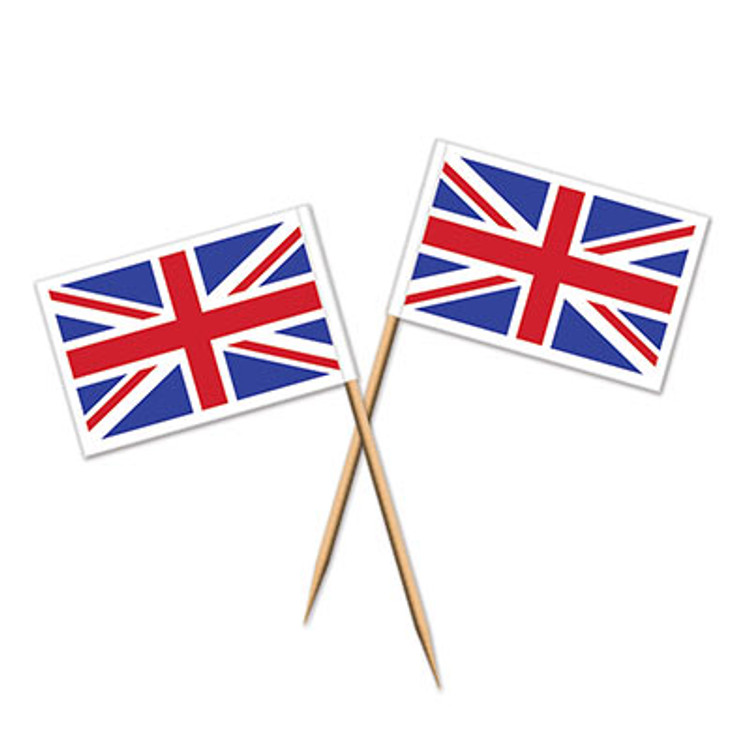 British Union Jack Toothpicks