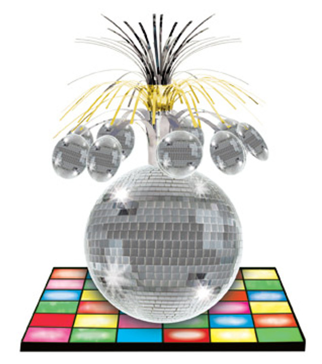 70's Disco Mirror Ball Centrepiece