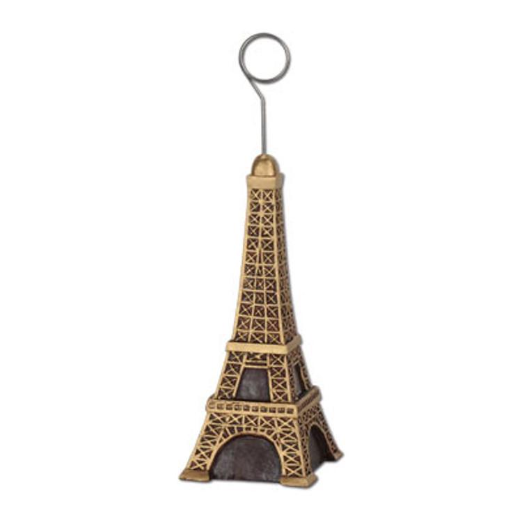 Eiffel Tower Balloon Weight/Photo Holder