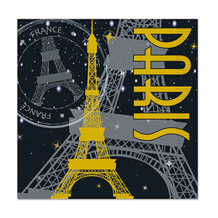 French Paris Luncheon Napkins