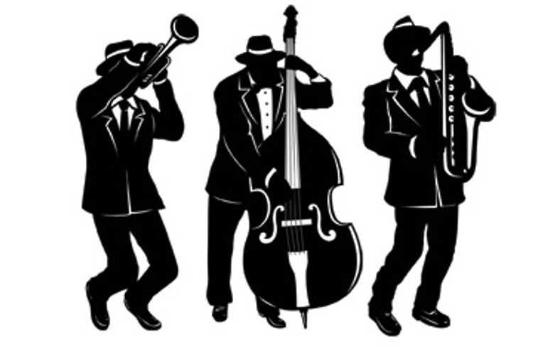 Gangster Jazz Trio Cut Out