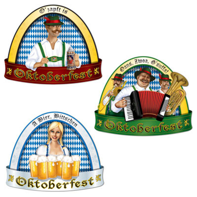 German Oktoberfest Dome Cut Outs