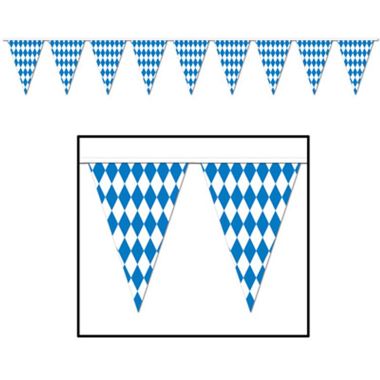 German Oktoberfest Pennant Banner
