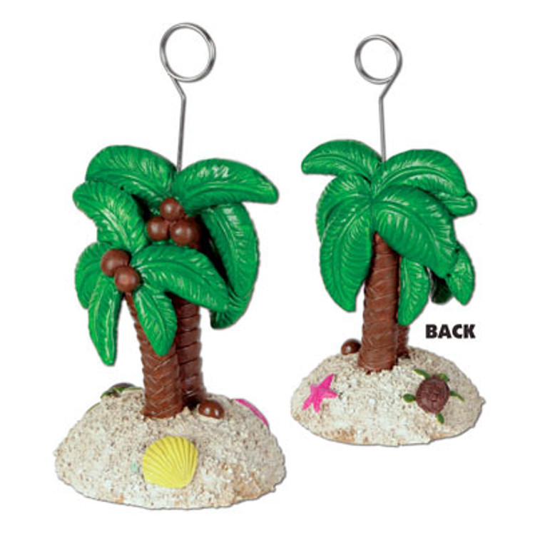 Balloon Weight/Photo Holder Palm Tree