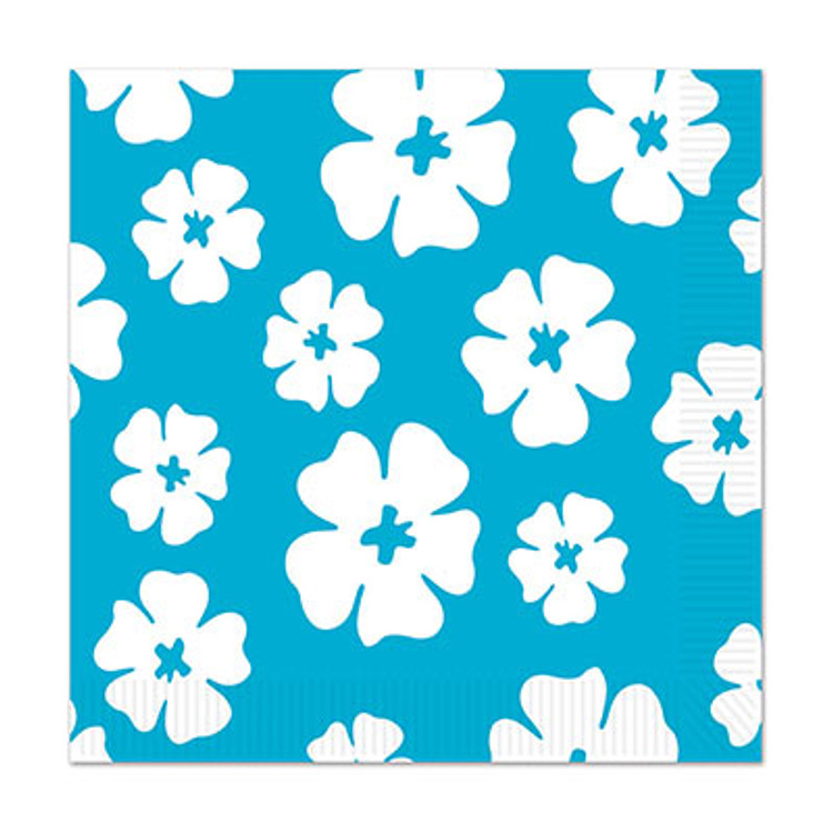 Hibiscus Flower Napkins Luncheon