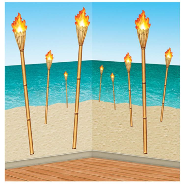 Tiki Torch Props