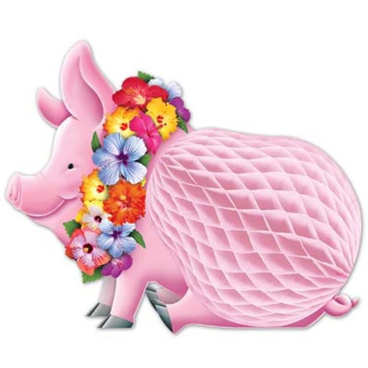 Luau Pig Centrepiece