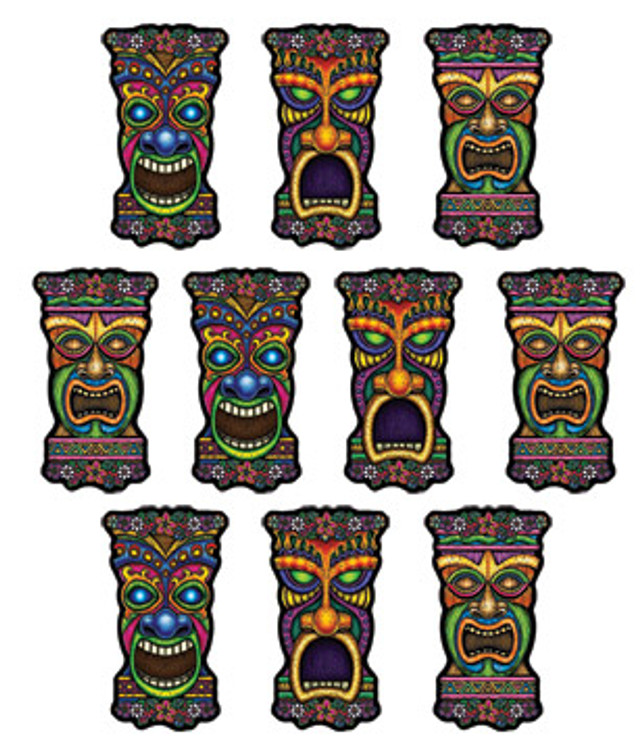 Tiki Mini Cut Out