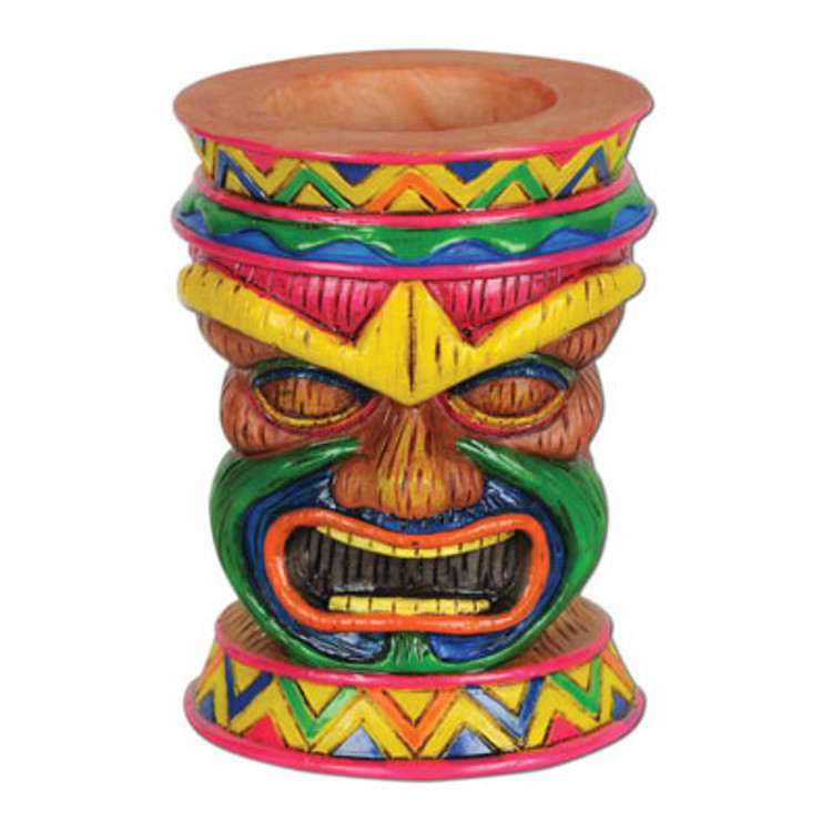Tiki Tea Light Holder
