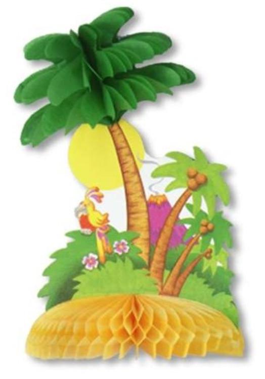 Tropical Island Centerpiece