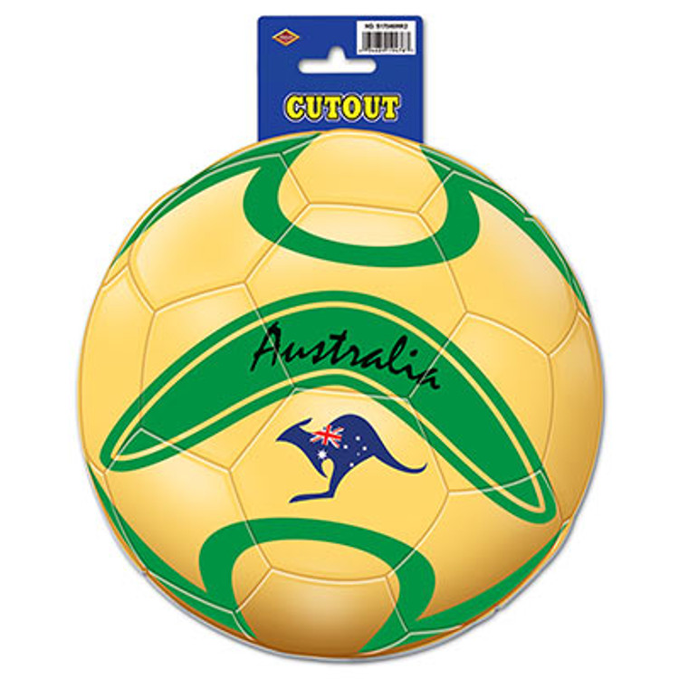 Soccer Ball Cut Out Australia