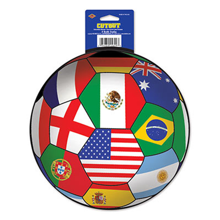 Soccer Ball Cut Out International