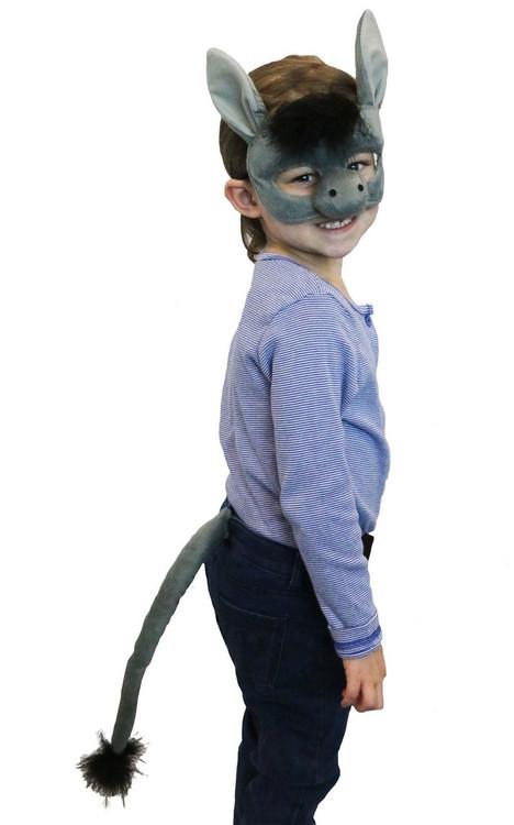 Donkey Mask & Tail Set