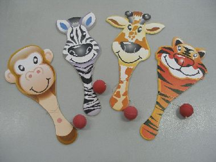 Game Paddle Ball - Zoo, Horse or Panda Print