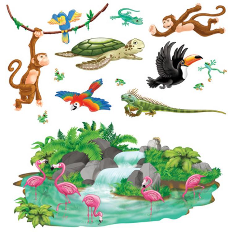 Jungle Props Tropical Animals