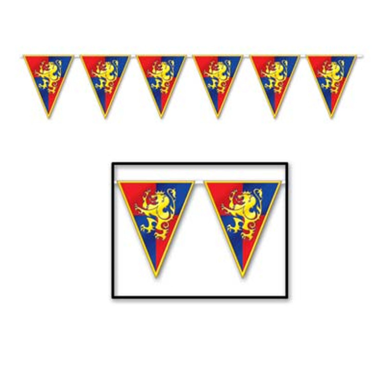 Medieval Pennant Banner