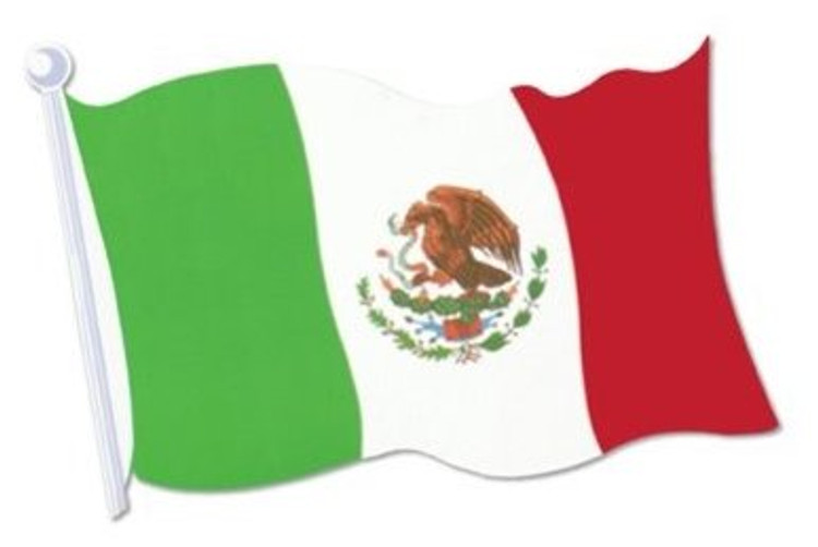 Mexican Flag Cut Out