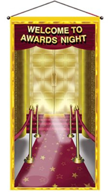 Movie Awards Night Door Panel