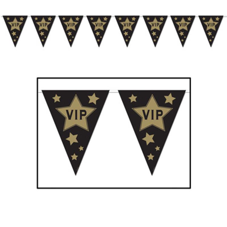Movie V I P Pennant Banner