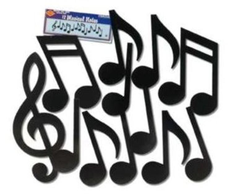 Music Note Silhouettes