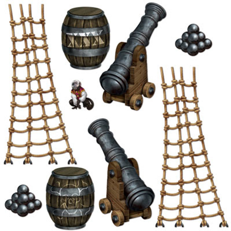 Pirate Ship Deck Cutouts
