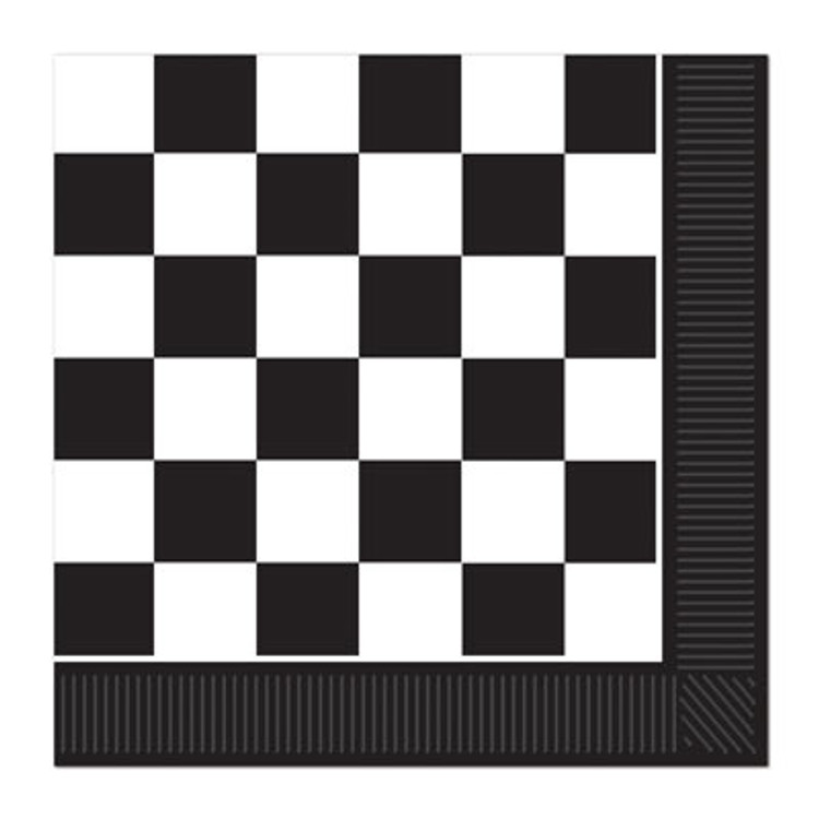 Checkered Flag Napkins Luncheon