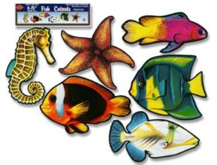 Fish Tropical Cut Outs